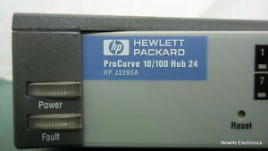 HP J3295-69101 ProCurve 10/100 24-port Hub J3295A