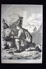 Moda e costume di un Cacciatore Tirolese nel 1867