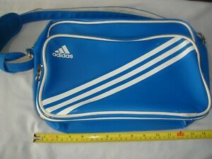 ADIDAS 3 STRIPES CROSS SHOULDER BAG - BLUE - USED BUT IN GOOD CONDITION.