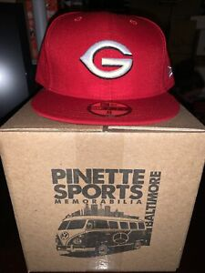 Greeneville Reds MiLB New Era Home 59Fifty Cap Hat Mens Size 8 Cincinnati