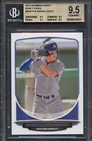 BGS 9.5 AARON JUDGE 2013 BOWMAN DRAFT PICKS ROOKIE CARD RC GEM MINT QUANTITY AVL