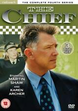 THE CHIEF SERIES 4 MARTIN SHAW 4 DISC DVD 2011  Brand New & Factory Sealed