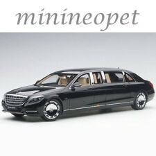 AUTOart 76297 MERCEDES BENZ MAYBACH S 600 PULLMAN LIMO 1/18 MODEL CAR BLACK
