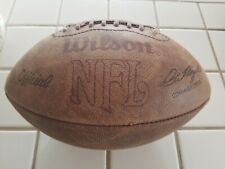 Vintage Wilson Official Nfl Afc Nfc Pete Rozelle Commissioner Leather Football