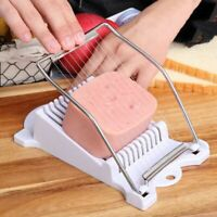 Stainless Steel Luncheon Meat Slicer Eggs Soft Food Cheese Fruit Sushi Cutter