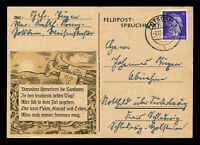 Germany 3rd Reich WW2 WWII Picture Postcard German Hitler Soldier Fieldpost 1942