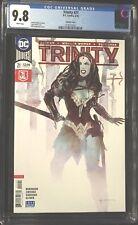 Trinity (2018) #21 CGC 9.8  Bill Sienkiewicz Variant Wonder Woman Cover!