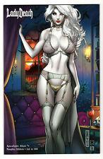 LADY DEATH APOCALYPTIC ABYSS #1 NAUGHTY EDITION LTD 500 MIKE DEBALFO KICKSTARTER