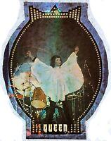 Original Vintage 70s Queen Freddie Mercury Iron On Transfer Rock