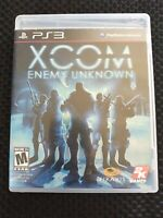 XCOM: Enemy Unknown (Sony PlayStation 3, 2012) - PS3 FREE SHIP