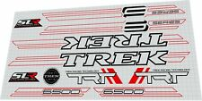 Trek SLR 6500 2007 frame decal set