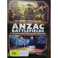 Anzac Battlefields DVD Pozieres Fromelles ++ Western Front Great Graphics Foxtel