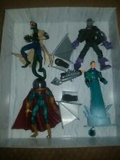 Marvel Legends Spiderman Classics Figure Lot Goblin HydroMan Lizard Mysterio