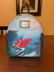 Little Mermaid Ariel's Grotto Loungefly Backpack