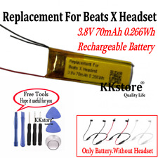 3.8V 70mAh 0.266Wh Replacement Battery For Beats X Headset