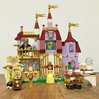 Lego Disney 41067 Belle's Enchanted Castle, 100% Complete + Box + Instructions