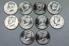 2010 2011 2012 2013 2014  P+D Kennedy Half Dollar Set From Mint Rolls