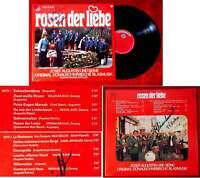 LP Josef Augustin & Donauschwäbische Blasmusik: Rosen der Liebe Signiert 1972