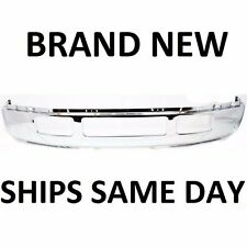 NEW Chrome Steel Front Bumper For 2005-2007 Ford F250 F350 Super Duty w/o Flares