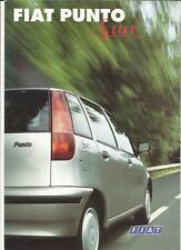 FIAT PUNTO STAR EDIZIONE SPECIALE vendita opuscolo 1996 1997 lingua tedesca
