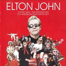 ELTON JOHN ROCKET MAN THE DEFINITIVE HITS 2 CD NEW