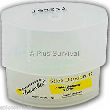 Lot of 100 Travel Size Deodorant Sticks Clean Fresh Scent Survival Hygiene Kits