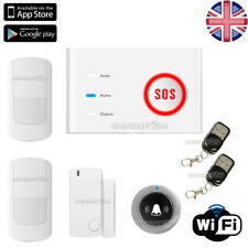 WIRELESS SECURITY WIFI WLAN APP MESSAGE HOME HOUSE OFFICE BURGLAR INTRUDER ALARM