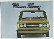 (39B) 3 CATALOGUES FIAT 124 SPECIAL