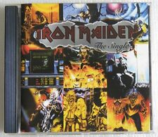 IRON MAIDEN THE SINGLES CD MADE IN HOLAND WITHOUT BARCODE