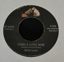 Martha Carson RCA 6293 Laugh a Little More and Let the Light Shine on Me