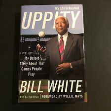 Bill White Signed Book Autographed My Life In Baseball Uppity Hardcover JSA