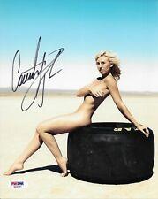 Courtney Force Rahal Signed 8x10 Photo Autographed PSA/DNA COA NHRA