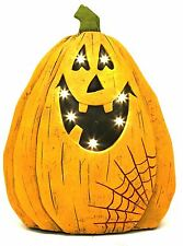 Light Up Battery Operated LED Jack O Lantern Pumpkin Halloween Decoration