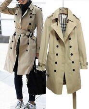 Trench Cotton Unbranded Regular Coats & Jackets for Women