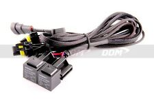 DDM HID Xenon Conversion Kit Dual Relay Harness Dual In Dual Out, Fit All Bulbs