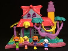 Polly Pocket 💛 1994 - Polly Pocket Light-up Kitty House Animal Wonderland 3.2