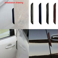 4pcs Door Edge Scratch Anti-collision Protector Guard Strip Universal for Car df