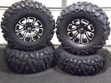 """HONDA RANCHER 350  12/"""" CYCLONE ALUMINUM ATV WHEELS SET 4 SRA1CA 12x6 12x8"""