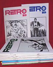 RETRO BD lot des n°1 à 17. 1978 -1979. Collection complète en BEL ETAT
