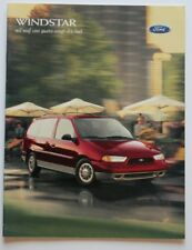 FORD WINDSTAR 1998 dealer brochure - French - Canada - ST1002000918