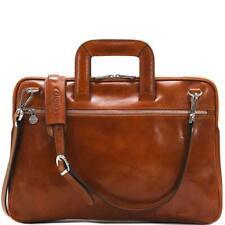 Floto Firenze Slim briefcase attache messenger leather bag  (1434ZU)