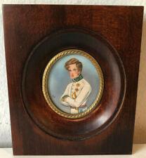 Miniatura decorativa  - piccolo quadro -miniature - Aiglon - Napoleone II