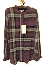Burberry Brit Bright Navy Blouse Size US L
