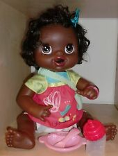 "Hasbro 16"" Baby Alive Ethnic Doll 2010 With Accessories"