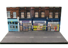 Diorama présentoir derelict UK shops - scale OO - 1/76ème - #OO-2-C-C-001