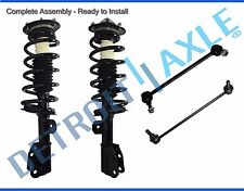4pc Complete Front Strut and Spring Suspension Kit for Equinox Torrent Vue