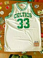 vtg Larry Bird #33 Mitchell & Ness Authentic Sewn Jersey SZ 54  1984-85 Celtics