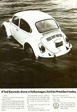 VW floating ad   Retro Metal Plaque/Sign, Pub, Bar, Man Cave,