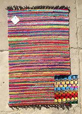 Striped Rag Jute Rugs