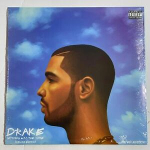 Drake - Nothing Was the Same Vinyl 2LP Limited Blue Colored Record NEW